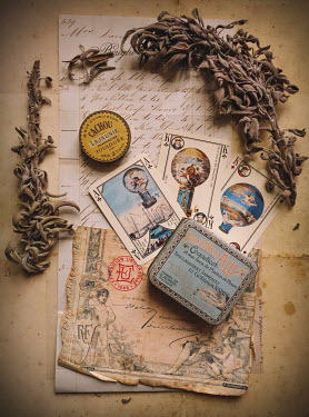 Jane Morley VINTAGE FRENCH MEMENTOS Miscellaneous Objects