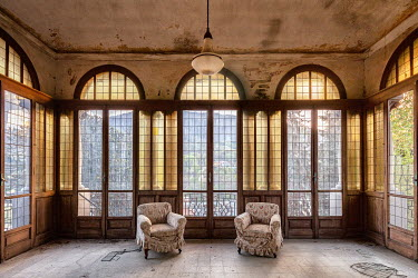 James Kerwin GRAND INTERIOR OF ABANDONED HOIUSE Interiors/Rooms