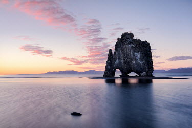 James Kerwin COAST OF ICELAND WITH ARCHES IN ROCK Rocks/Mountains