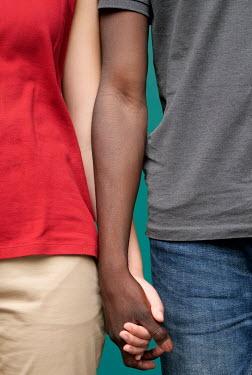 Ute Klaphake MULTI-ETHNIC COUPLE HOLDING HANDS Couples