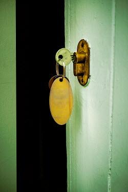 Stephen Mulcahey KEY ON KEYRING IN DOOR Building Detail