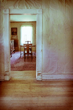 Jill Battaglia DINING ROOM OF OLD HOUSE Interiors/Rooms