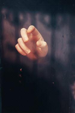 Oana Stoian WOMAN'S HAND EMERGING FROM WATER Body Detail