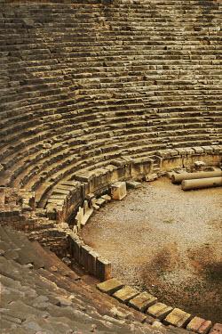 Irene Lamprakou ANCIENT GREEK OPEN AIR THEATRE Building Detail