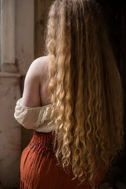 Holly Leedham LONG HAIRED WOMAN WITH BARE SHOULDER Women