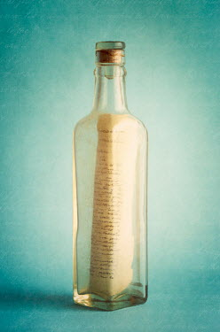 Amy Weiss LETTER IN OLD BOTTLE Miscellaneous Objects