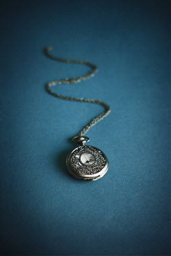 Dorota Gorecka ANTIQUE SILVER WATCH ON CHAIN Miscellaneous Objects