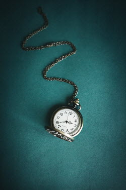 Dorota Gorecka SILVER FOB WATCH WITH CHAIN Miscellaneous Objects