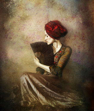 Marta Ostrowska EXOTIC WOMAN IN TURBAN Women