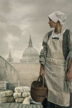 Stephen Mulcahey HISTORICAL MAID BY LONDON DOCKS Women