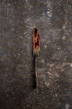 Cristina Mitchell BLOOD STAINED ANTIQUE KNIFE Miscellaneous Objects