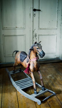 Carmen Spitznagel OLD WOODEN ROCKING HORSE Miscellaneous Objects