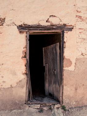 Trevor Payne BROKEN WOODEN DOOR Building Detail