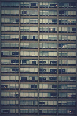 Susan Fox MODERN TOWER BLOCK WITH WINDOWS Miscellaneous Buildings