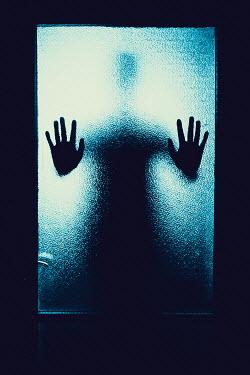 Ildiko Neer Man's hands on door Men