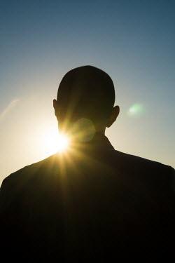 Mohamad Itani SILHOUETTE OF MAN IN SUNSHINE Men