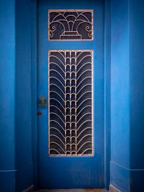 Trevor Payne DECORATIVE BLUE DOORWAY Building Detail