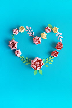 Jasenka Arbanas PAPER FLOWERS IN HEART-SHAPE Miscellaneous Objects