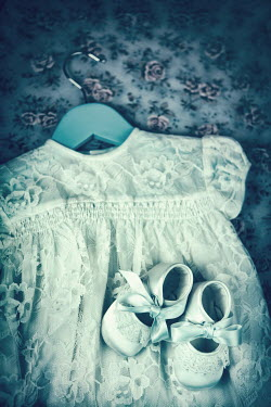 Magdalena Russocka infant shoes and white lacy dress Miscellaneous Objects