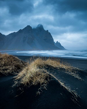 Paul Sheen STORMY BEACH WITH ROCKY CLIFFS Seascapes/Beaches