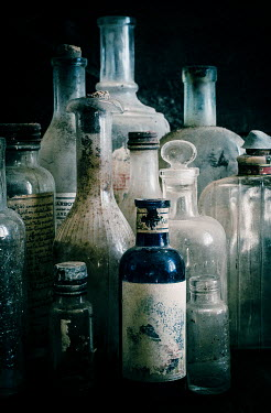 Jane Morley COLLECTION OF OLD DUSTY BOTTLES Miscellaneous Objects