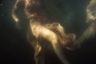 Aleah Ford CLOTHED WOMAN UNDERWATER Women