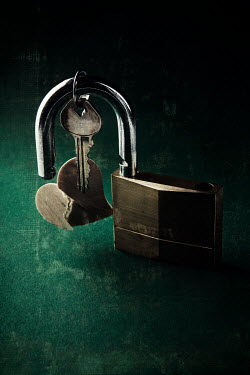 Kelly Sillaste PADLOCK WITH KEY AND HEART Miscellaneous Objects