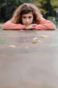 Svetoslava Madarova YOUNG GIRL IN PINK TOP Children