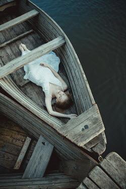 Dorota Gorecka WOMAN SLEEPING IN BOAT Women