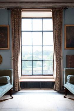 Lee Avison mansion window view from inside