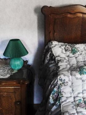 Maria Petkova RETRO BED WITH TABLE LAMP Interiors/Rooms