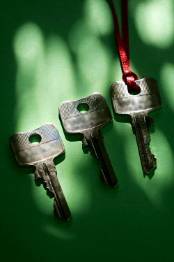 Ute Klaphake THREE KEYS AND RED RIBBON Miscellaneous Objects