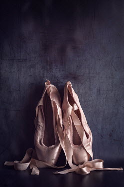 Amy Weiss PINK BALLET SHOES WITH RIBBONS Miscellaneous Objects