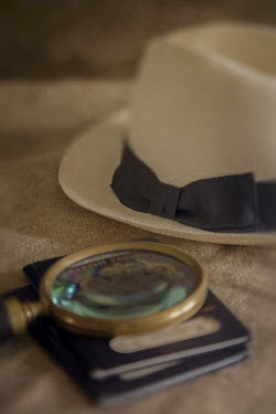 Paul Grand HAT AND MAGNIFYING GLASS Miscellaneous Objects