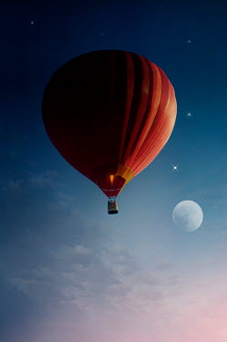 Nicola Smith RED HOT AIR BALLOON Miscellaneous Transport