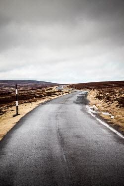 Richard Nixon ROAD THROUGH BLEAK LANDSCAPE Roads