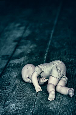 Magdalena Russocka child's doll abandoned on floor Miscellaneous Objects