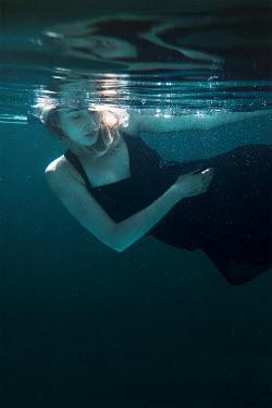 Eva Van Oosten DEAD WOMAN FLOATING IN DRESS Women
