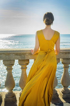 Nikaa WOMAN BY SEA IN YELLOW DRESS Women