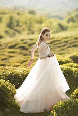 Elena Alferova WOMAN IN WHITE WEDDING DRESS Women
