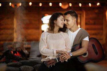 Elena Alferova LOVING COUPLE WITH GUITAR Couples