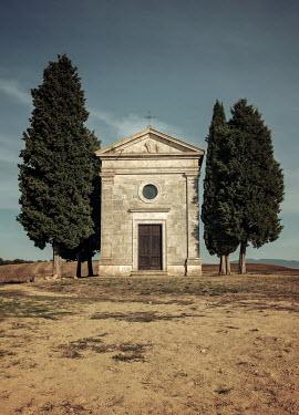 Jaroslaw Blaminsky CHAPEL WITH CYPRESS TREES Religious Buildings