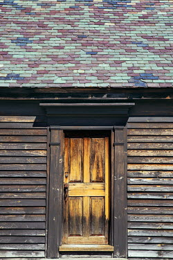 Irene Suchocki DOOR IN OLD WOODEN HOUSE Houses