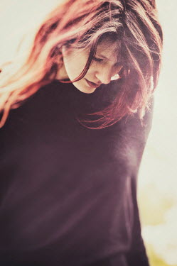 Nicola Smith MODERN YOUNG WOMAN WITH RED HAIR Women