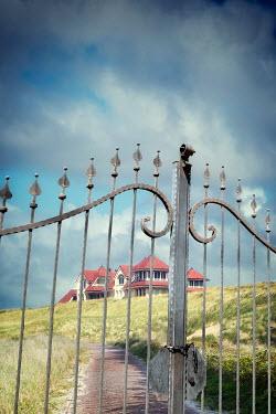 Yolande de Kort GRAND COUNTRY MANSION BEHIND GATES Houses