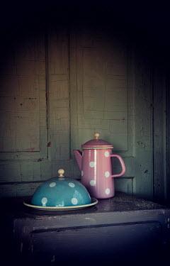 Carmen Spitznagel RETRO CROCKERY IN OLD HOUSE Miscellaneous Objects