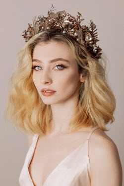 Jovana Rikalo BLONDE WOMAN WEARING TIARA Women