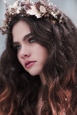 Jovana Rikalo WOMAN WEARING TIARA Women
