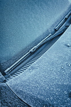 Magdalena Russocka close up of car covered with ice