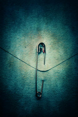 Ildiko Neer Safety pin piercing envelope Miscellaneous Objects